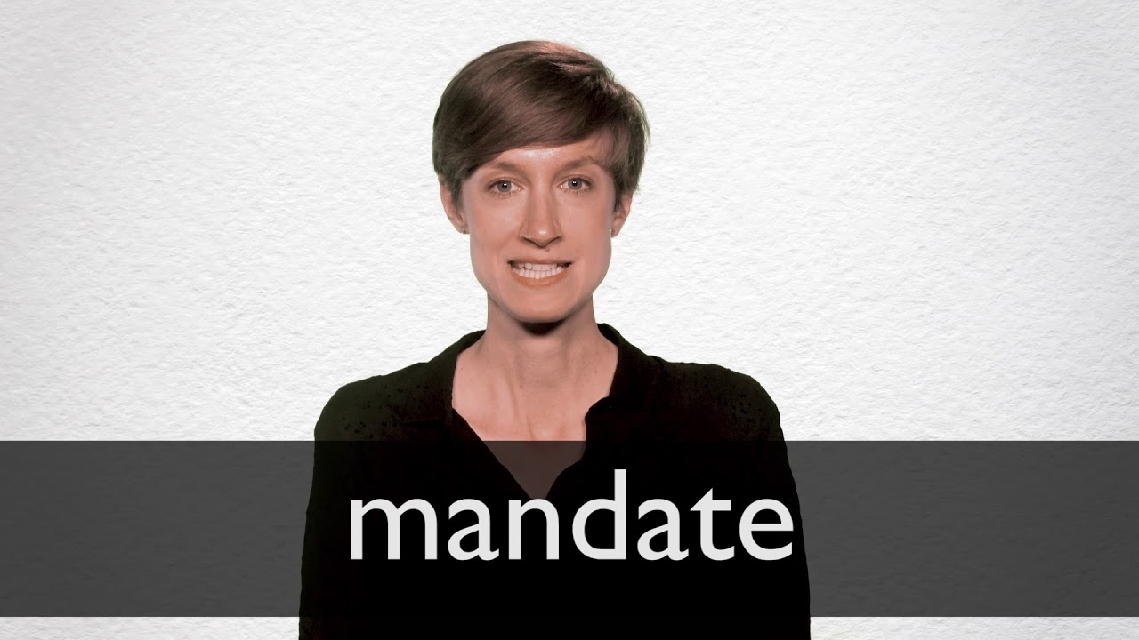 meaning of mandating