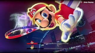 (Mario) Special Shot . Exhibition . Mario Tennis Aces (Nintendo Switch)