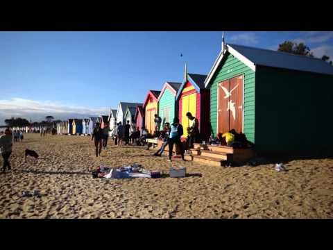 Brighton Beach - Beach Boxes