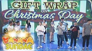 Banana Sundae: Gift Wrap on Christmas Day