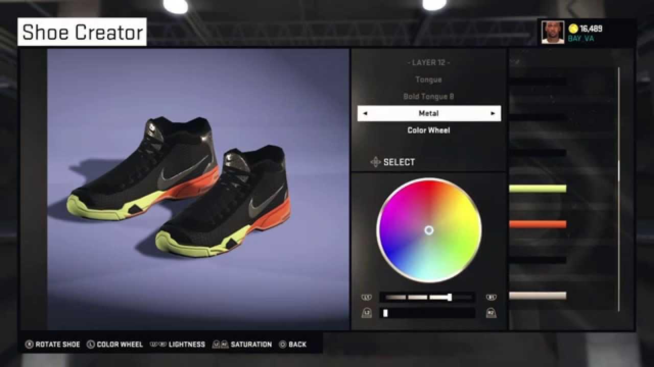 premium selection a35db f4b41 NBA 2K15   Shoes   Kobe 10 AllStar - YouTube