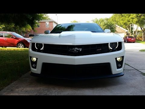 Timelapse Camaro Ss To Zl1 Bumper Swap Youtube
