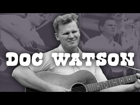 Picking East Tennessee Blues Like Doc - Bluegrass Guitar
