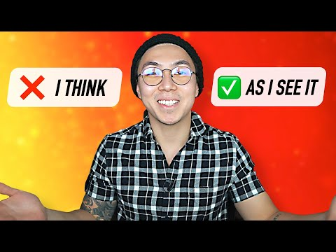 ХВАТИТ говорить I THINK! (учи английские слова быстро с LinguaTrip TV)