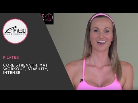 Dynamic Pilates Core Strength Workout 30 Minutes