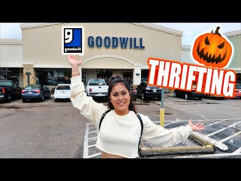 HALLOWEEN COSTUME THRIFT SHOPPING!