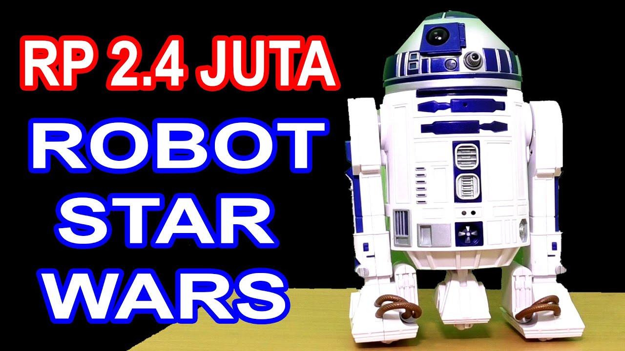 RP 2.4 JUTA ROBOT STAR WARS R2D2