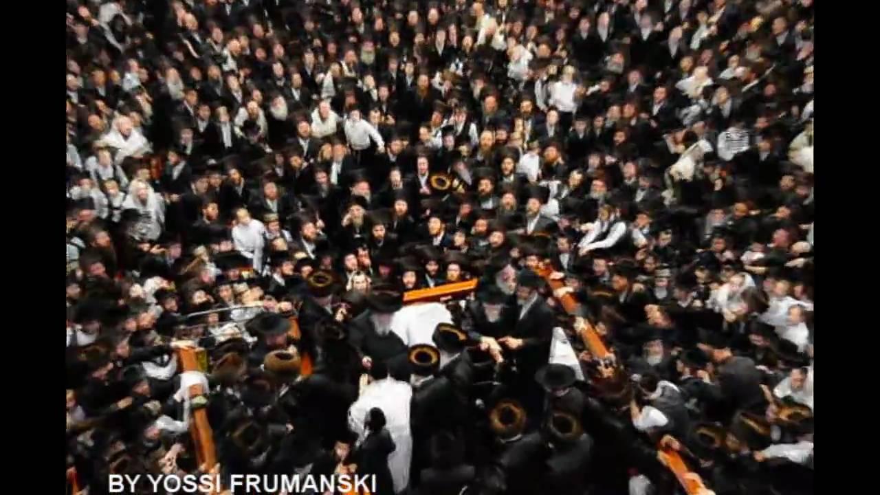 Bris of the Belzer rebbe's grandson Rabbi Elyashiv is sandek