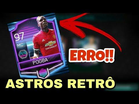 ERRO NA CARTA DO POGBA!! - ASTROS RETRÔ | FIFA MOBILE