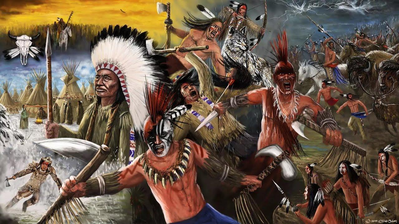 Картинки индейцев из игр