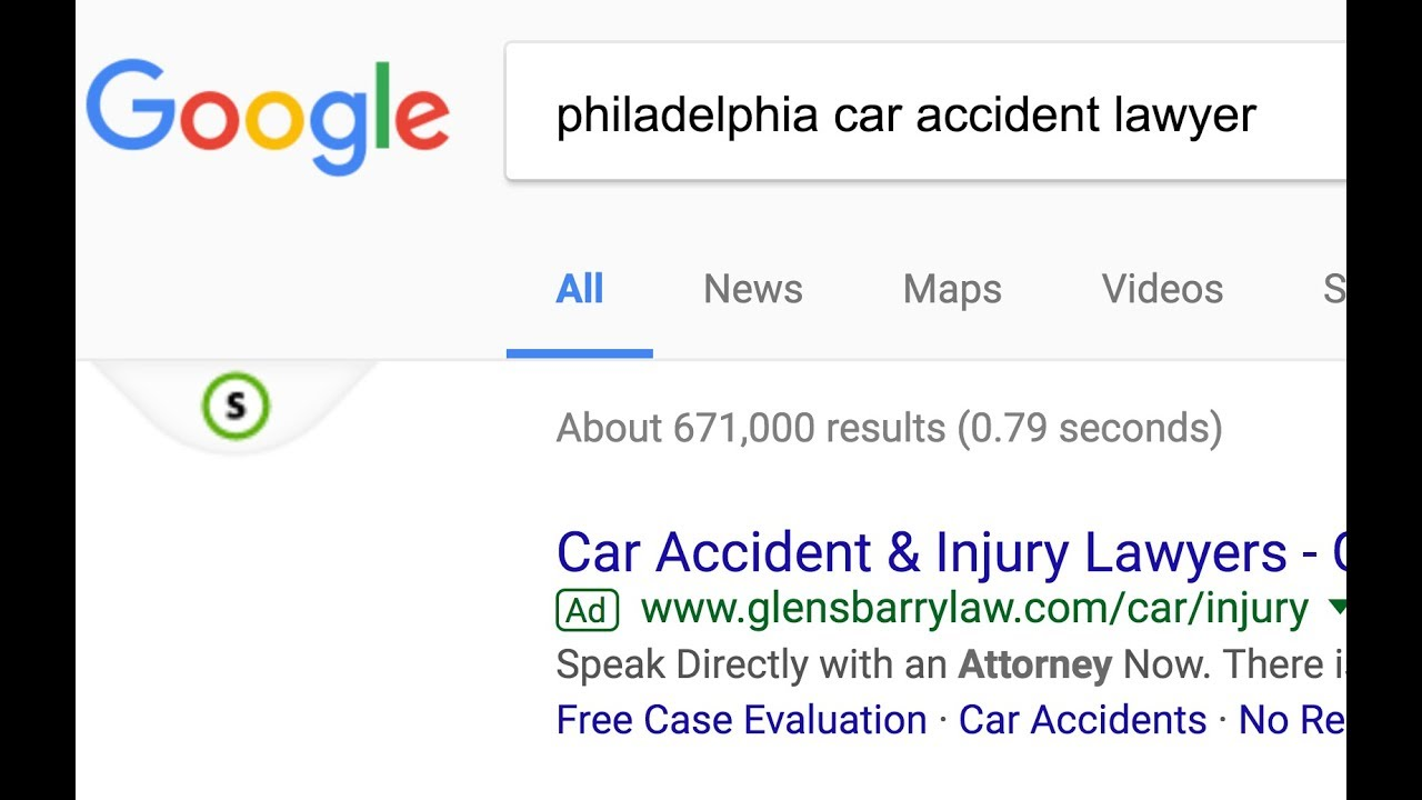Philadelphia car accident law firm website analysis 2 - YouTube