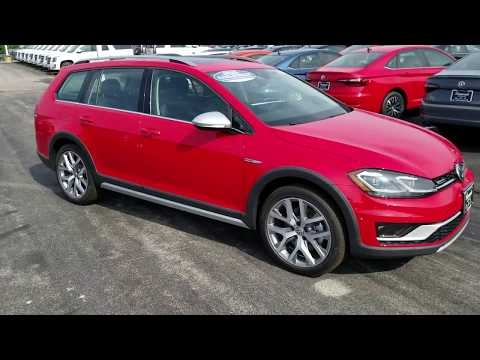 2019 VW Golf 1.8T Alltrack SEL 4Motion ****DISCONTINUED AFTER 2019 MODEL YEAR****