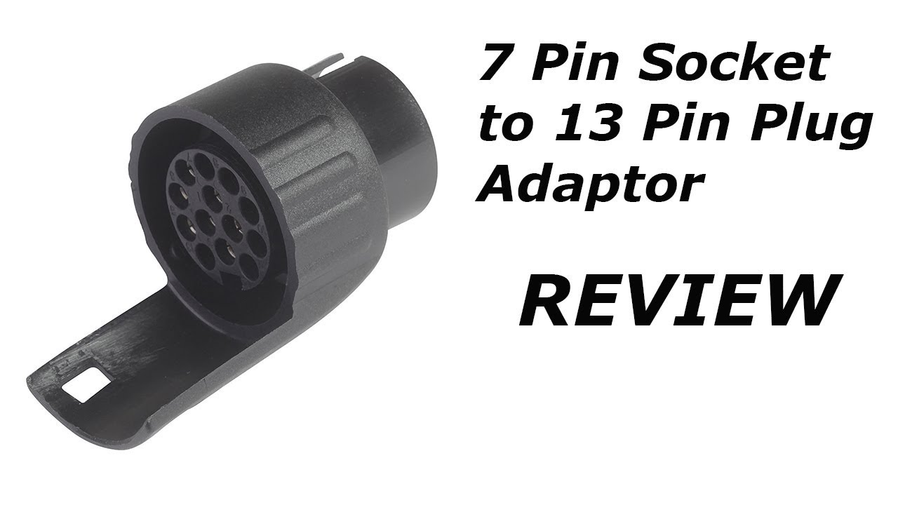 13pin to 7 pin adaptors for towing [ 1280 x 720 Pixel ]