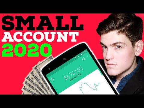 How To GROW A Small Account in 2020 📈 | Beginner Trading