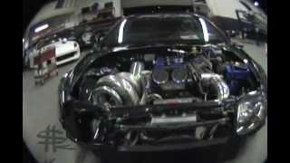GIGANTIC TURBO Nitrous Toyota Supra MKIV 1500 hp thumbnail