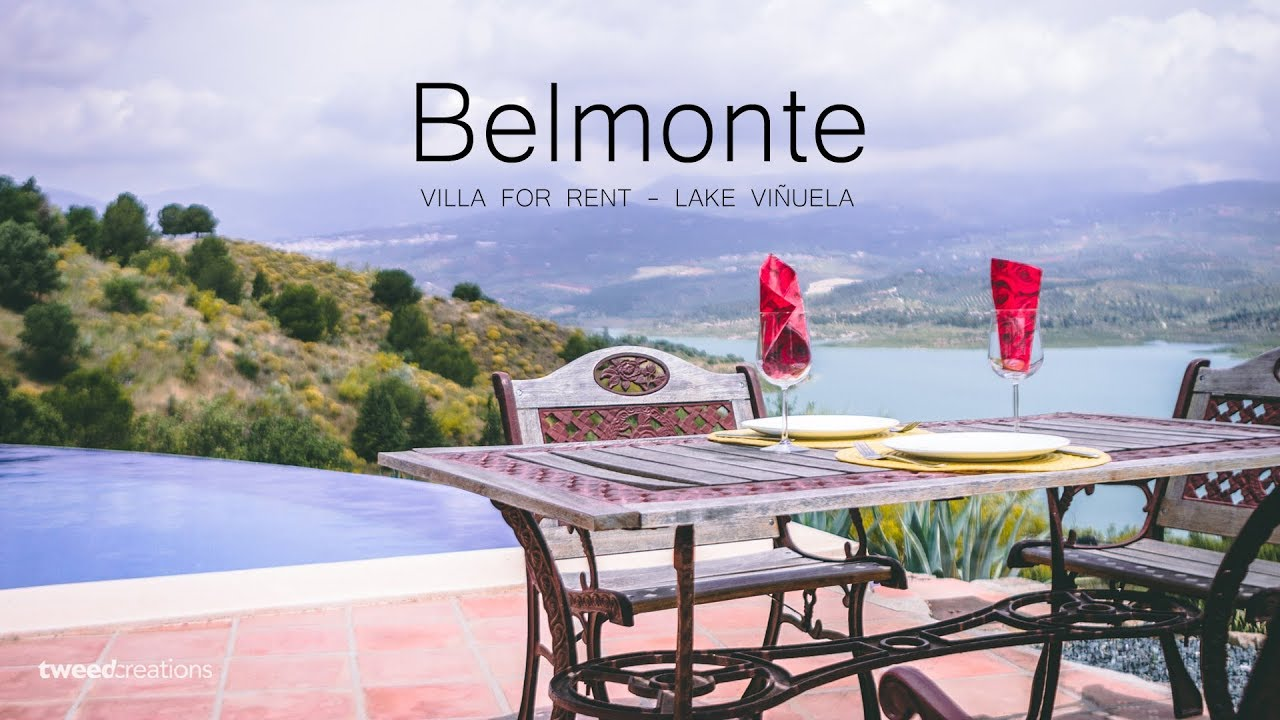 Belmonte, Lake Viñuela - Aerial Property Video
