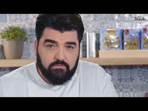 Fusilli integrali Voiello con carciofi e crema d'aglio - La ricetta dello Chef Cannavacciuolo