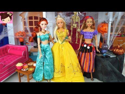 Barbie Halloween Costume Dress up Party - Disney Princess Kids - Royal High Show