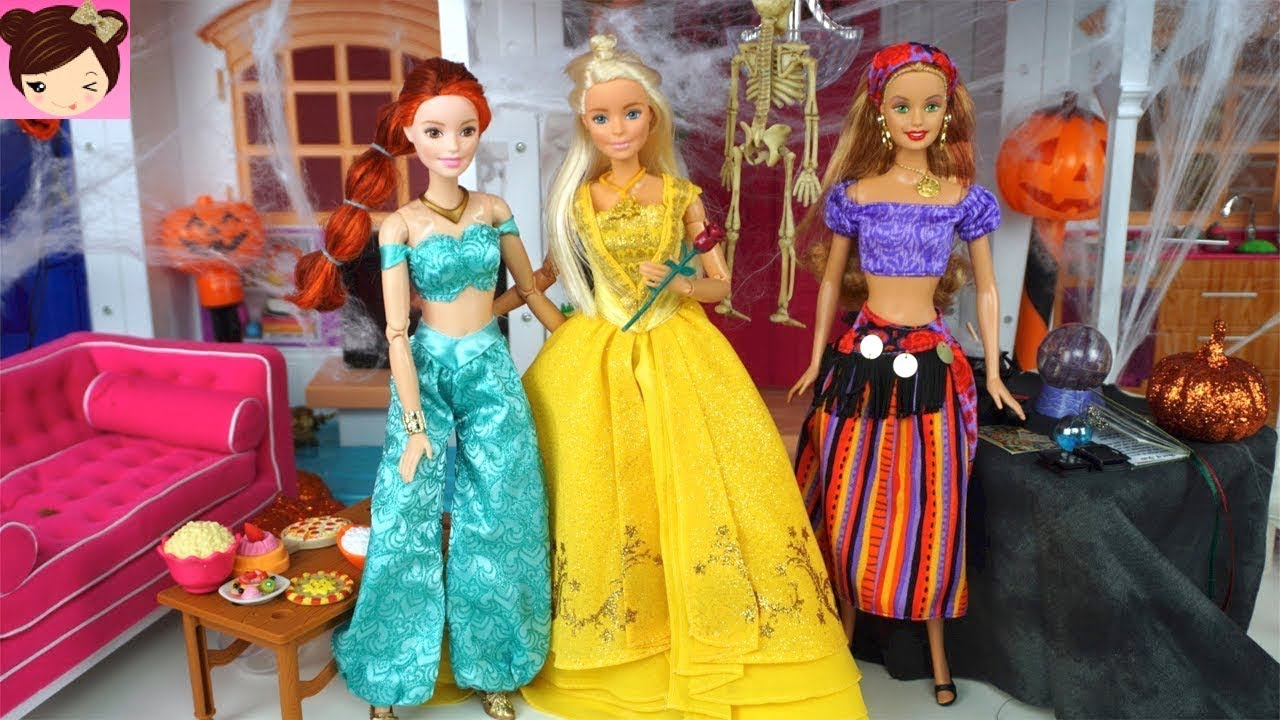 Barbie Halloween Costume Dress Up Party Disney Princess Kids