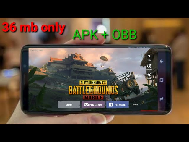[36mb]pubg mobile APK+OBB Download for Android Highly compressed