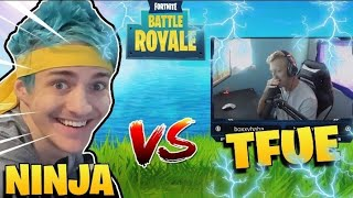 NINJA vs TFUE Reactions to Getting SICK CLIPS! (Tfue No Reaction Ninja FREAKS OUT!) Fortnite.R