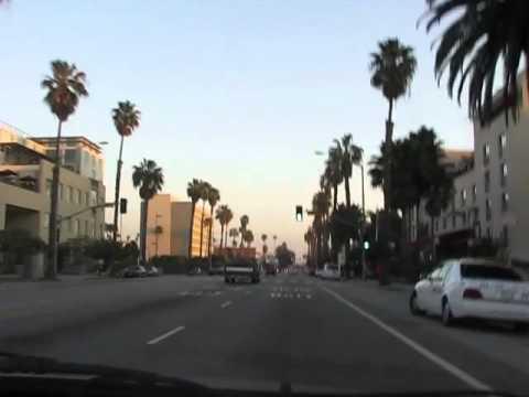 Driving Down Santa Monica Blvd.