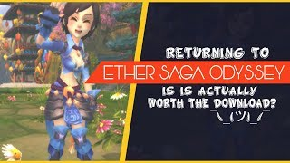 Ether Saga Odyssey - Is It An Anime MMORPG Worth Playing Again?