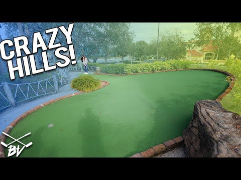 THESE ARE SOME OF THE BEST MINI GOLF HILLS I'VE EVER SEEN!
