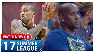 Gary Payton II Highlights vs Cavaliers (2017.07.07) Summer League - 10 Pts, 5 Stls, LIKE FATHER!