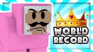 GOING FOR WORLD RECORDS!! | Minecraft Parkour