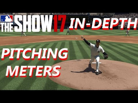 MLB The Show 17 In-depth - Pitching - Pitching Meters