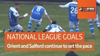 Leyton Orient and Salford continue to set the pace | National League Highlights