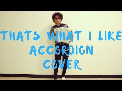 That&39;s What I Like - Bruno Mars Mulett Accordion Cover