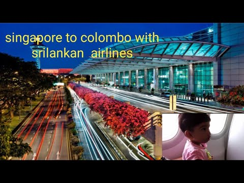 singapore to colombo with srilankan airlines 2016.09.28 happy journey together