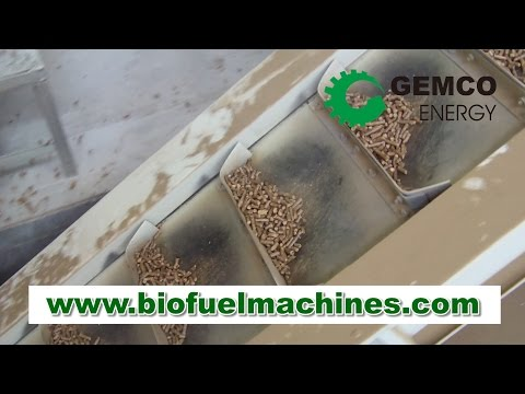 Complete line of pellets production— A turnkey large wood pellet plant provide by GEMCO