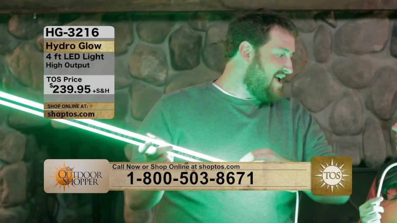 the outdoor shopper - hydro glow - green led fishing light (www, Reel Combo