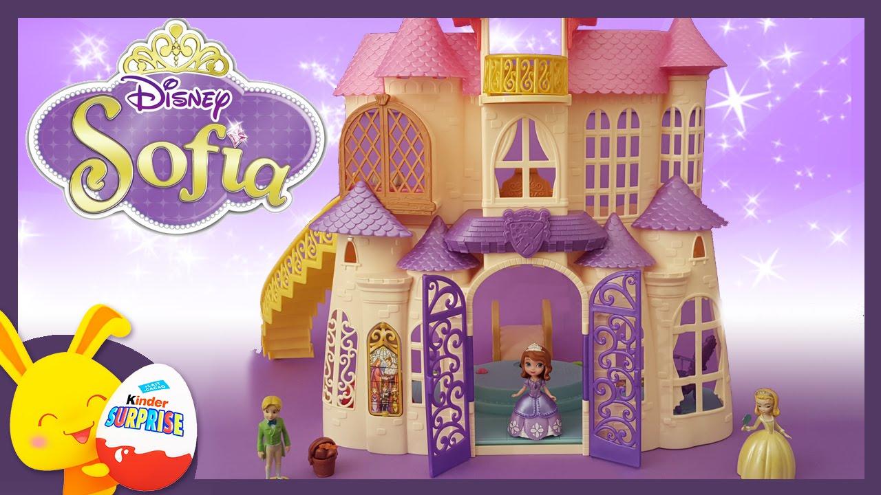 Chateau princesse sofia jouet pour enfants titounis for Image chateau princesse