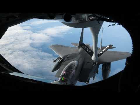 F-15E Strike Eagle - Estonia Flyover Stringer