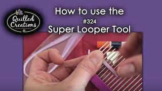 Super Looper Quilling Comb