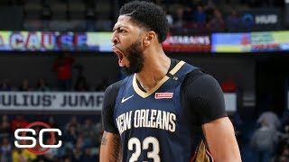 Anthony Davis' top 10 plays | NBA Highlights thumbnail