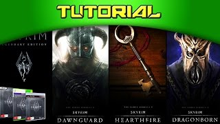 [TUTORIAL] Como instalar as DLCs de Skyrim Legendary Edition