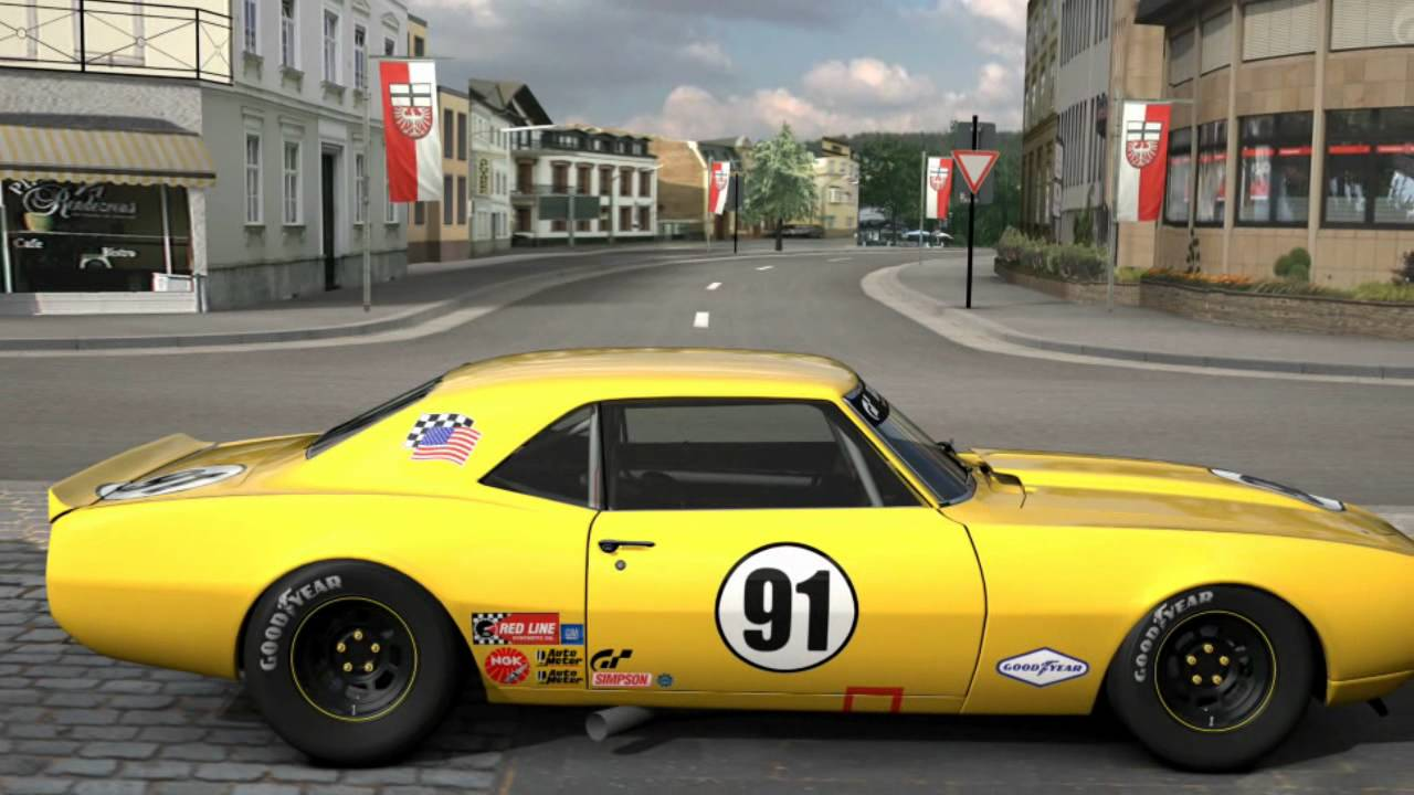 My Gran Turismo 5 Cars Classic Muscle Cars Youtube