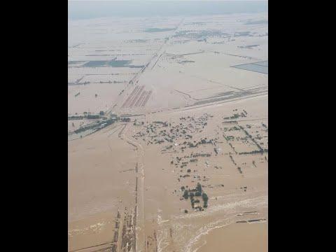 Наводнение, прорыв дамбы в Узбекистане, Сырдарьинская область