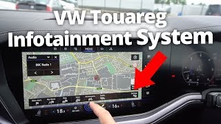 VW Touareg 2019 Infotainment System | Stable Lease