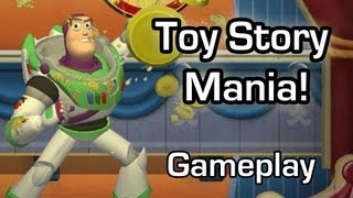 Toy Story Mania! - Kinect shooting-gallery style mini-games (Gameplay 1080p)
