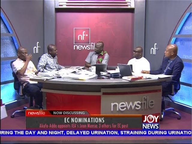 EC Nominations - Newsfile on JoyNews (28-7-18)