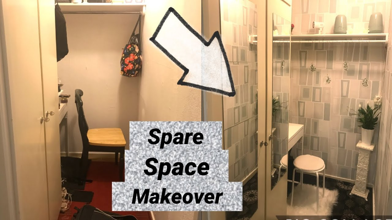 Small Spare Space Makeover Spare Room Ideas 2020 Youtube