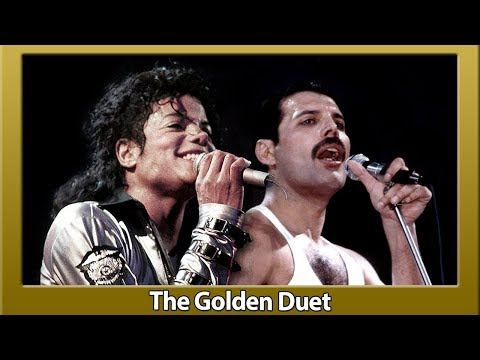 Freddie Mercury and Michael Jackson - There Must Be More to Life Than This  Clip Golden Duet