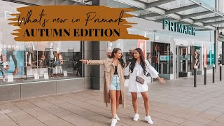 WHAT'S NEW IN PRIMARK AUTUMN/WINTER KNITWEAR,COATS AND MORE  - AYSE AND ZELIHA