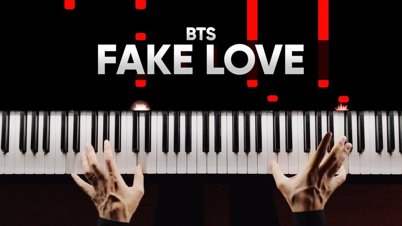 BTS - Fake Love | На Пианино | Piano Cover